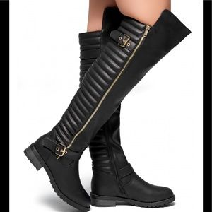 HerStyle Over The KneeGrunge Boho Riding Boots